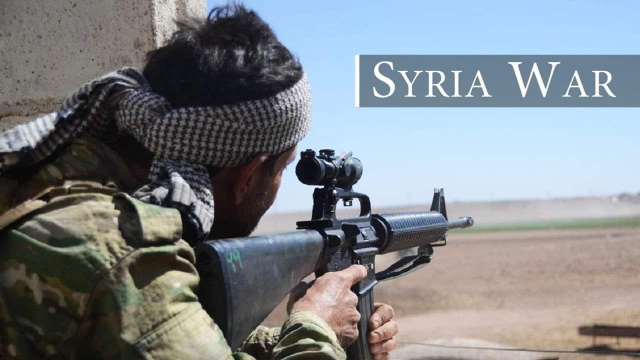 Výstava zajatých zbraní zo Sýrie – video-