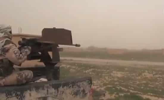 ISIS UVEREJNILO VIDEOZÁZNAM O STRETOCH S USA PODPOROVANÝMI SILAMI V ÚDOLÍ EUFRAT