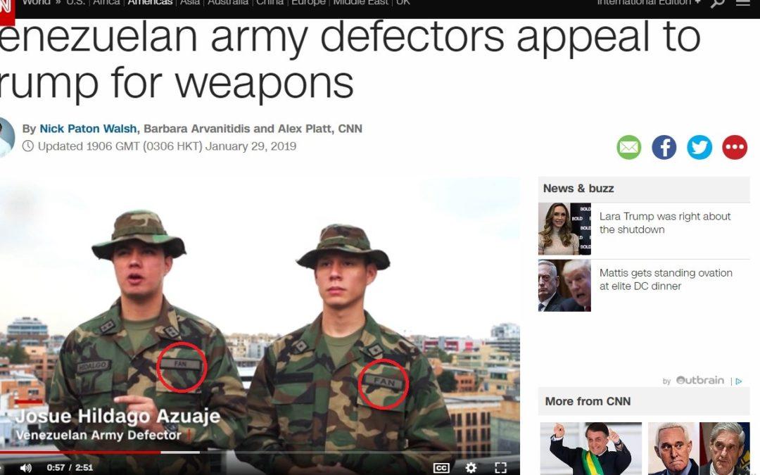 CNN opäť FAKE NEWS A MLŽENIE O VENEZUELE.