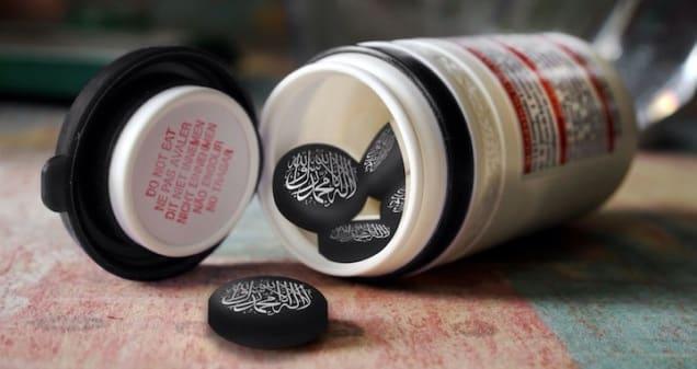 Pre skupiny ISIL, AL NUSRA a sýrskych povstalcov sa vyrába ISIL edícia CAPTAGONu.