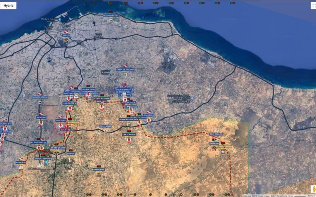 LÍBYJSKÁ NÁRODNÁ ARMÁDA MENÍ SMER ÚTOKU V BITKE O TRIPOLIS, SNAŽÍ SA IZOLOVAŤ MESTO (MAP UPDATE)