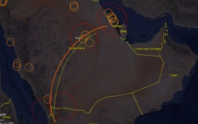 DRONY HOUTHI ZNIČILI DVE STRATEGICKÉ ROPNÉ ZARIADENIA SAUDSKEJ ARÁBIE -video-