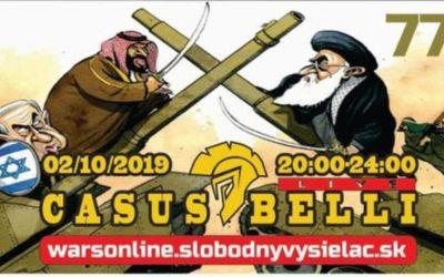 Casus belli 77 – CRASH MIG29 – kto útočil na SAUDA? – GABON 93 – Aktuálne udalosti