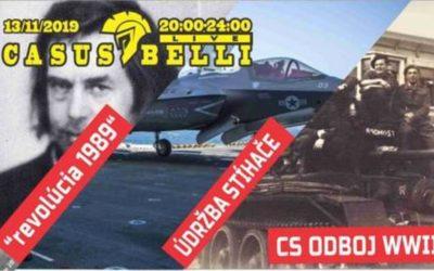 Casus belli 80 – 1989- CS Odboj v WWII 1.- Údržba stíhače, Légia –zaver
