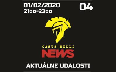 Casus belli News 04 – Aktuálne udalosti zo sveta a konfliktov