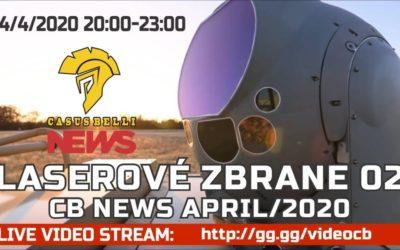 Casus Belli NEWS 08 – Laser 2, Slovenská koroňa novinky, Bojové novinky…