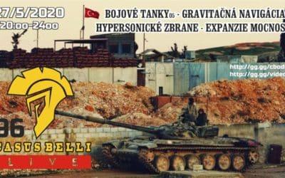 Casus Belli 96 – Bojove tanky 05, Hypersonicke zbrane, Expanzia mocnosti, Gravitacna navigacia…