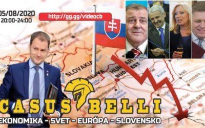 Casus Belli 100 – Stav ekonomiky SVET-EU-SLOVENSKO, Aktualne udalosti a novinky zo sveta a konfliktov, Historicke okienko.