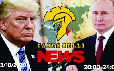 Casus Belli NEWS 12 – Azerbajdzan vs Armensko, Kebabistan vs susedia, Novinky, 5G a AESA radary.