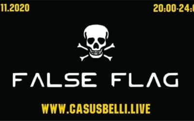 Casus Belli 106 – Novinky-aktualne udalosti, Host z USA fraska-volby, Pod falosnou vlajkou….