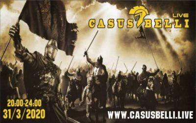 Casus Belli 117 – Co nove v LSNS s Radom Hradekom, Novinky, Nabozenske vojny, Radar technika s AI cast 2…