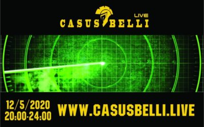 Casus Belli 120 – Novinky, Palestina vs Izrael, Umela inteligencia cast 4, Vyvoj v radarovej technike cast 4….
