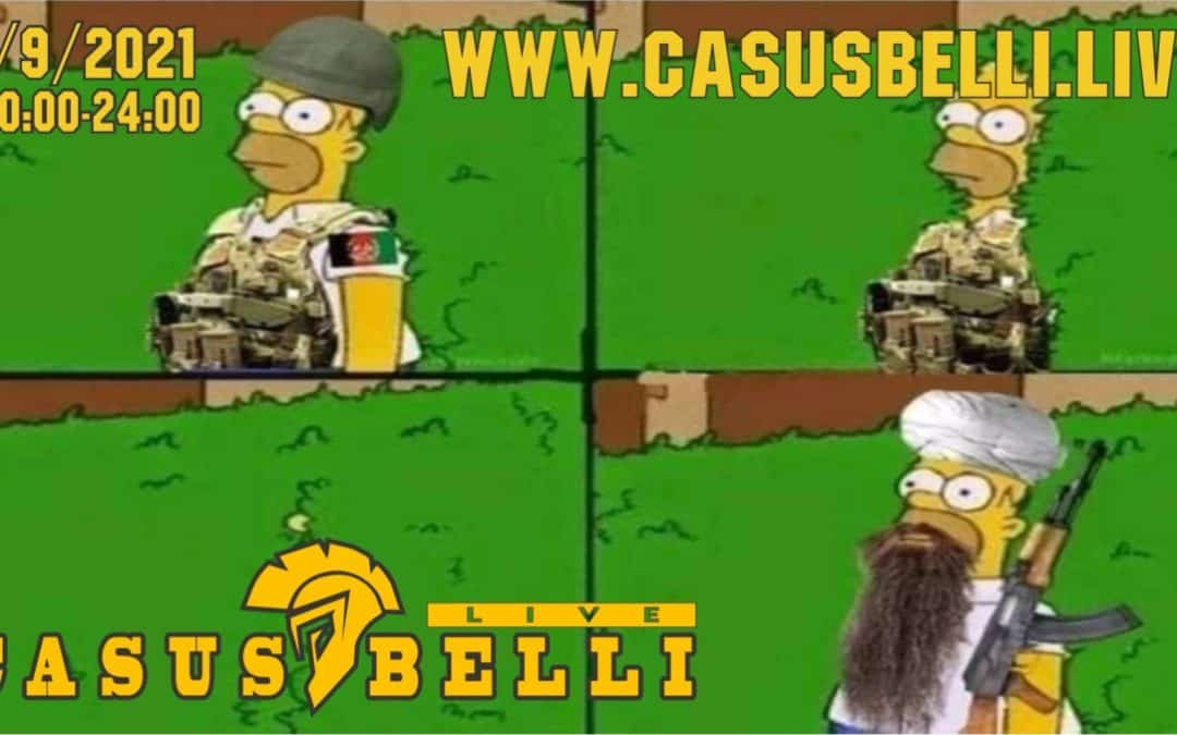 Casus Belli 129 – Novinky, Afgan, Lietadla diel 2, Dugin…